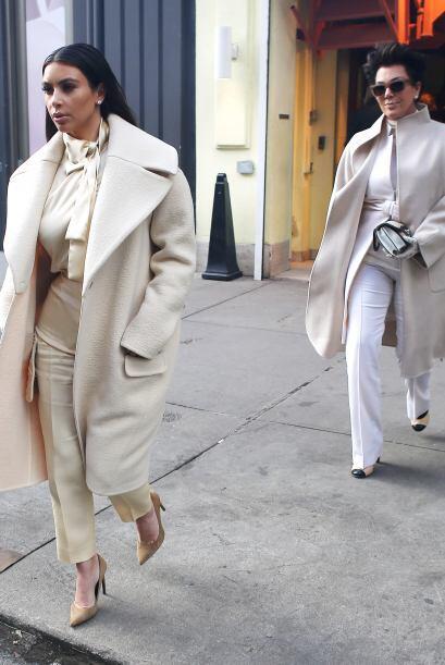 Además de la ropa, Kim y Kris tienen otras cosas en común. Mira aquí los...