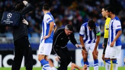 El 'Pirata' sufrió la terrible lesión durante la derrota de su equipo an...