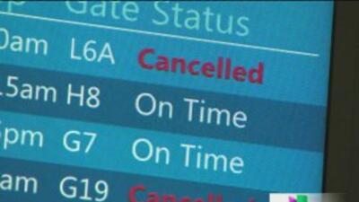 Frustración por más cancelaciones en O'Hare y Midway