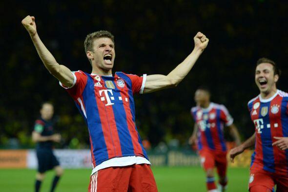 El goleador mundialista Thomas Müller viene con ganas de salir triunfado...
