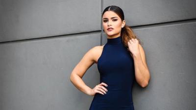EN FOTOS: Estas famosas derraman belleza vestidas de azul