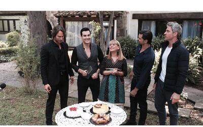 La producción de Tres veces Ana festejó a David Zepeda.