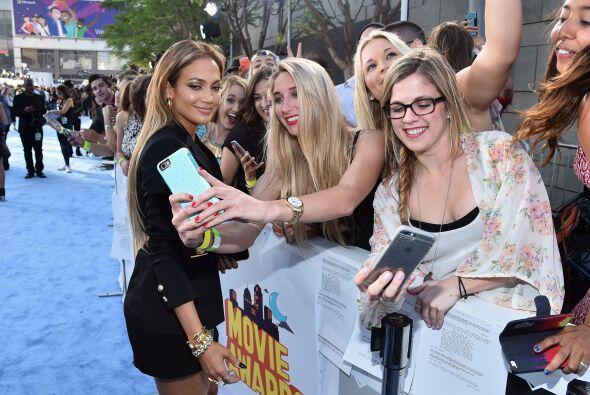 Más y más fotos con los fans.