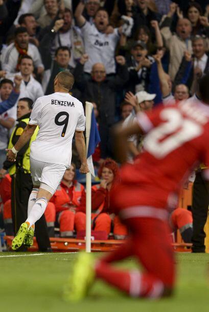 Karim Benzema anotó el gol que ilusiona a los merengues con la décima or...