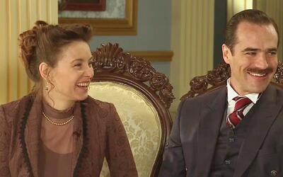 """Dominika Paleta y Jorge Poza son los villanos de """"El hotel de los Secretos"""""""