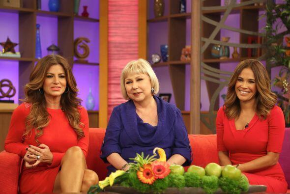 Paola estaba muy agradecida de la maravillosa entrevista que le concedió...
