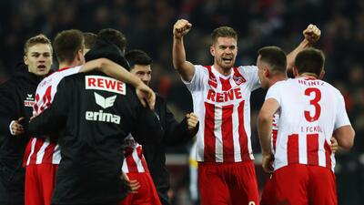 Colonia saca un triunfo de oro de último minuto ante el Gladbach