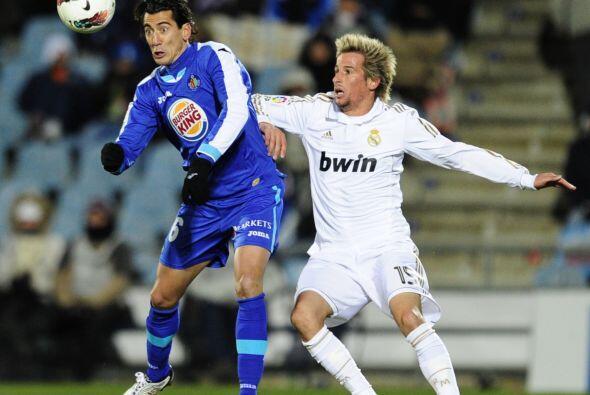 El conjunto de Mourinho dominó gran parte del juego.