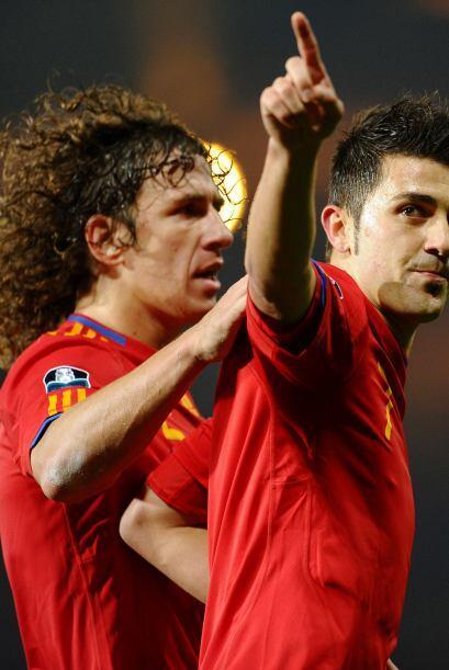 Jugadores de fama mundial, como el español David Villa, se solidarizaron...