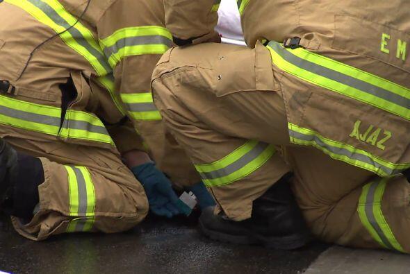 Un portavoz de la Policía aseguró a EFE que los heridos, entre los que s...