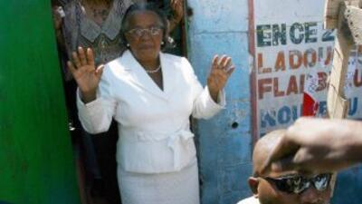 Los primeros resultados de las elecciones en Haití no le favorecen a la...