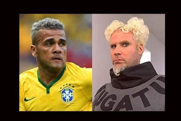 Si recuperara el 'look' que mostró en Brasil 2014, a Dani Alves no le co...