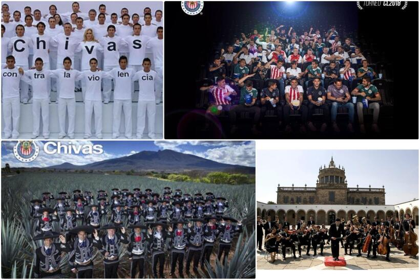 Fotos oficiales Chivas