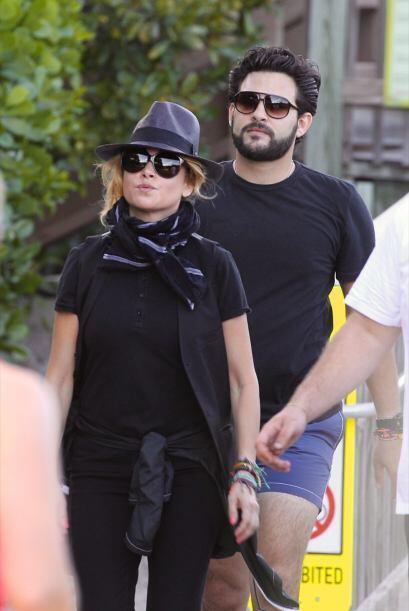 La cantante y su novio salieron a hacer ejercicio. Mira aquí lo &...