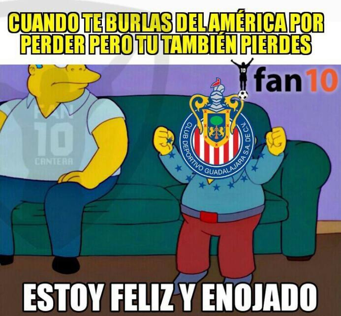 Los memes no perdonaron a Chivas y América por perder sus finales DE6rbk...