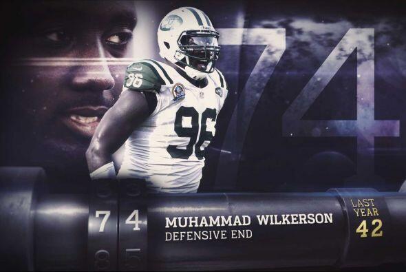 #74 Muhammad Wilkerson.