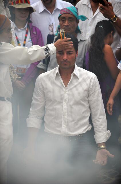 limpia maya - ritual maya