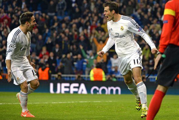 El galés Gareth Bale concluyó de forma impresionante la jugada para firm...