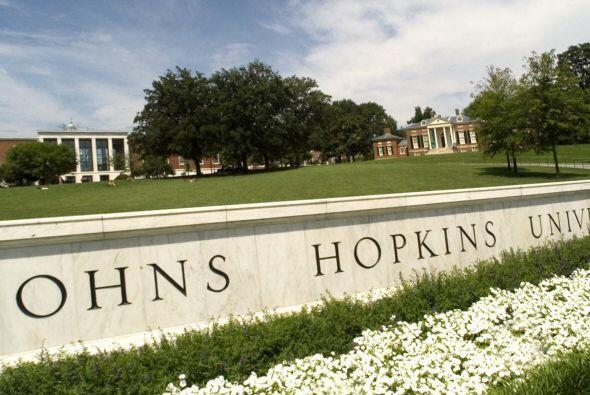 10. Johns Hopkins University (MD) - La prestigiosa universidad de Maryla...