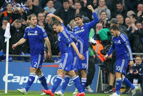 Vendría el silbatazo final y con ello la victora consumada de Chelsea en...