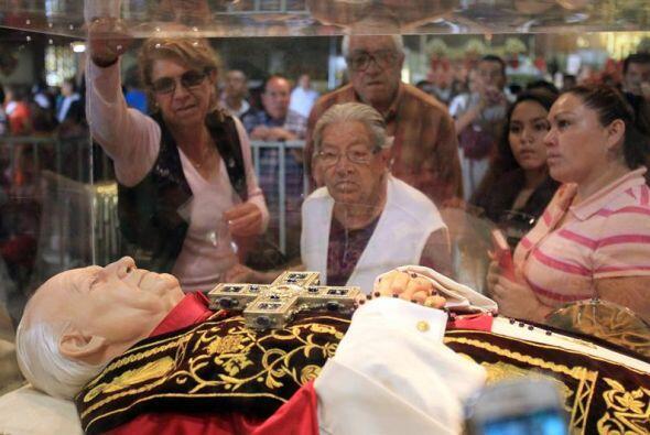El nuncio apostólico en México, Christophe Pierre, presidi...