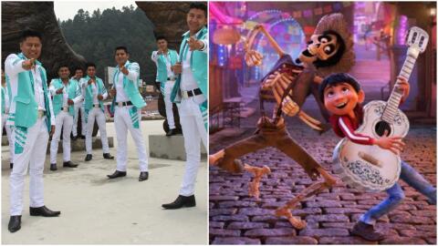 Tierra Mojada, la banda que aparece con su música en la cinta 'Coco'