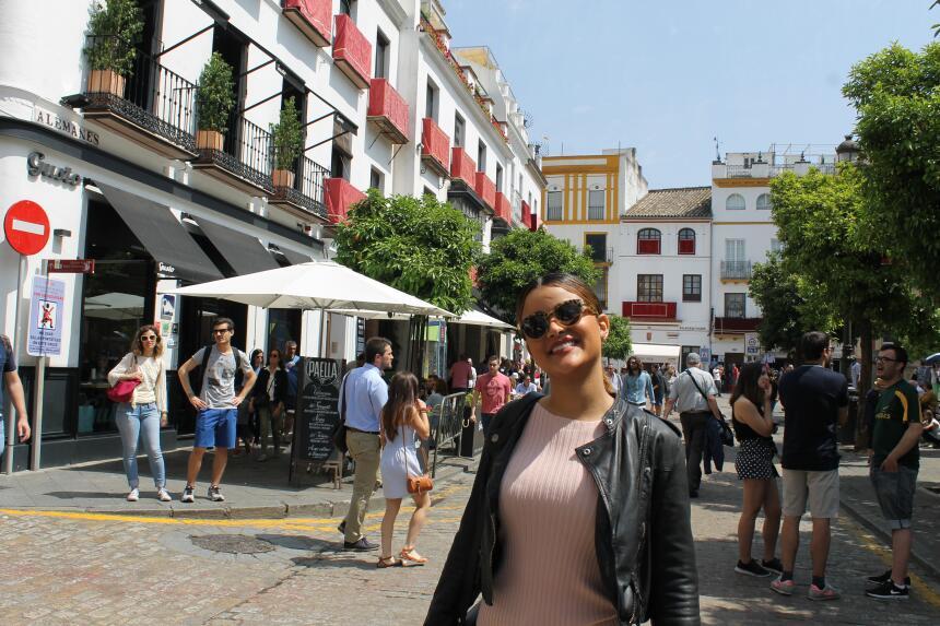 Estas son las fotos más bellas de Clarissa Molina en Sevilla IMG_4369.JPG