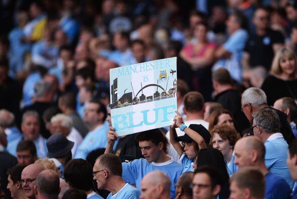 Los fanáticos pedían que el 'Sky Blue' pesara sobre el Uni...