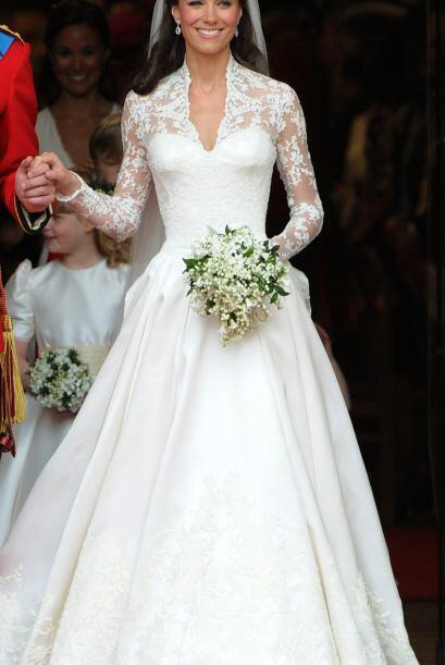 Kate Middleton revivió al desaparecido Alexander McQueen al elegi...
