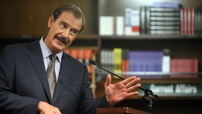 """Vicente Fox, expresidente de México, calificó de """"error monumental"""" el u..."""