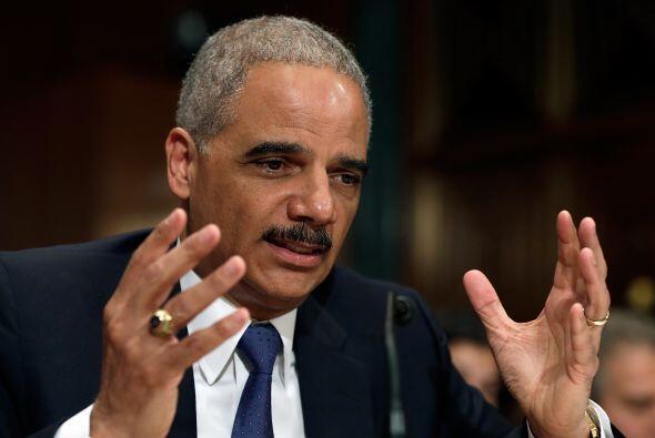 El secretario de Justicia de Estados Unidos, Eric Holder es uno de los l...