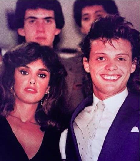 Luis Miguel y Lucía Mendez