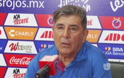 Carlos Reynoso: 'No estoy alarmado'