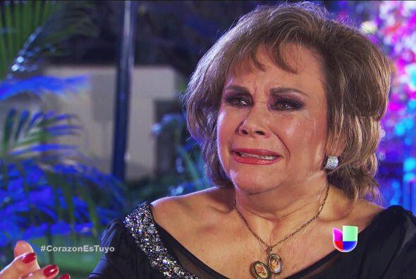 ¡Qué emoción doña Soledad! Estamos llorando junto a usted.