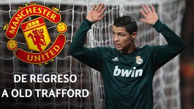Cada vez que Cristiano juega contra Manchester United en la Champions, anota gol