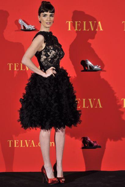 Paz Vega comenzó su carrera en España como actriz de televisión en serie...
