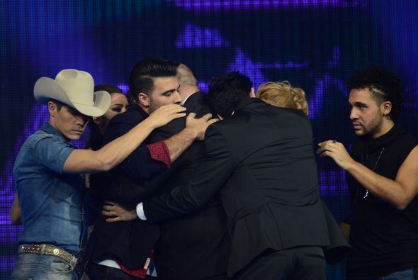 Mientras, Jencarlos y sus compañeros dijeron adiós a Ricardo.