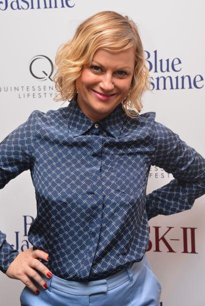 "Amy Poehler, quien sigue teniendo éxito con ""Parks and Recreation"", debu..."