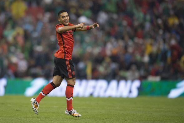 Marco Fabián (6): Durante 80 minutos estuvo desaparecido, y minutos ante...