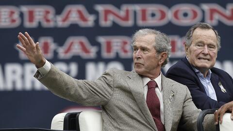La ausencia de los Bush en la Convención de Cleveland está...