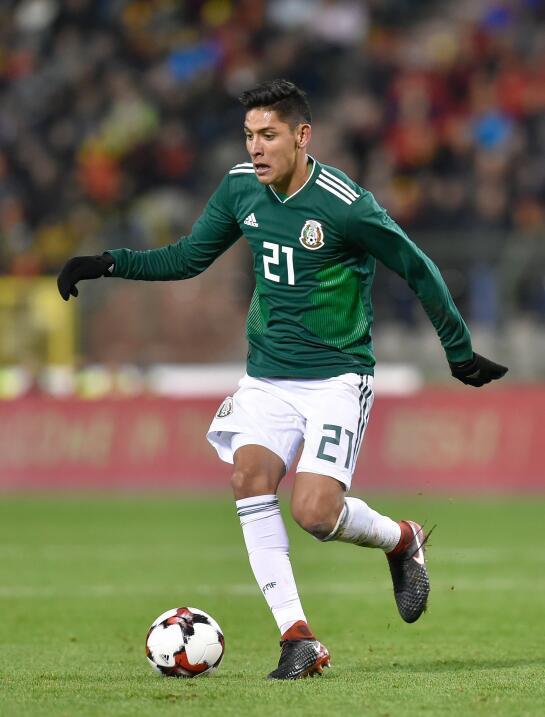 Édson Álvarez (América) - 47 partidos jugados (ocho...