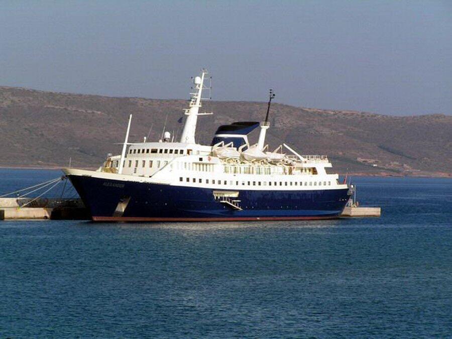 """Puesto 14: El """"Alexander"""" es otra de las embarcaciones que pertenece a l..."""