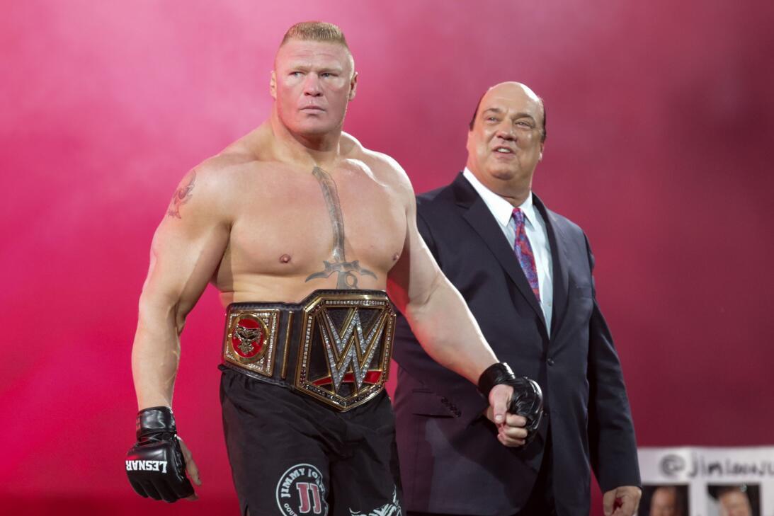 Ronda Rousey y Undertaker: íconos del Wrestlemania de WWE en 2018 ap-752...