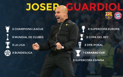 Un nuevo título al palmarés de Pep Guardiola.