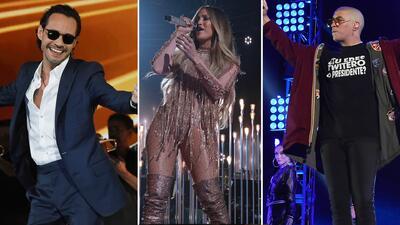 Así vivieron los famosos la espectacular noche de Somos LIVE!