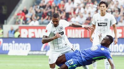 Frankfurt sin Fabián, sin Salcedo y sin puntos en la Bundesliga