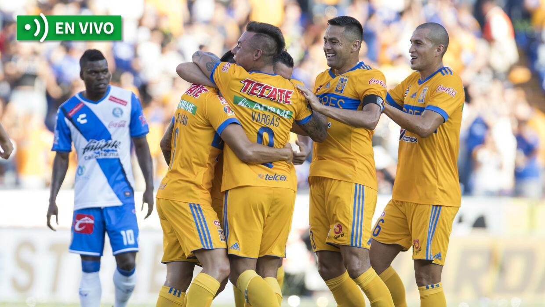 Tigres vs. Puebla en vivo Apertura 2017