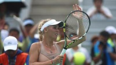 la tenista danesa participó como modelo de ropa interior de la empresa JBS.