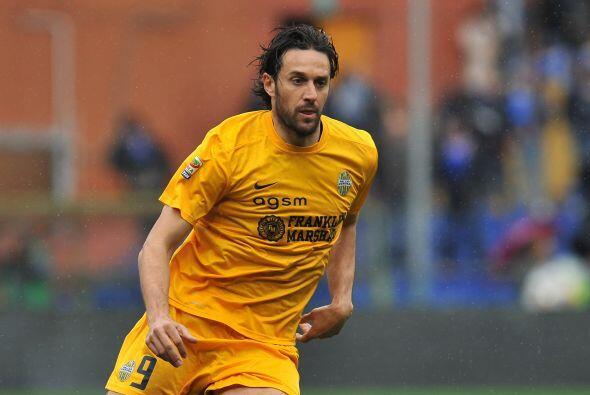 El delantero del Hellas Verona, Luca Toni, espera sumar una temporada má...