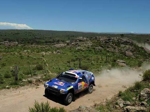 La primera etapa de competencia del Rally Dakar 2010 arrancó el s...